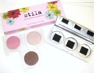 Stila Eyeshadow Trio - Pon Pon Gerbera - Refillable palette