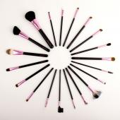 Professional makeup brushes 20 piece set